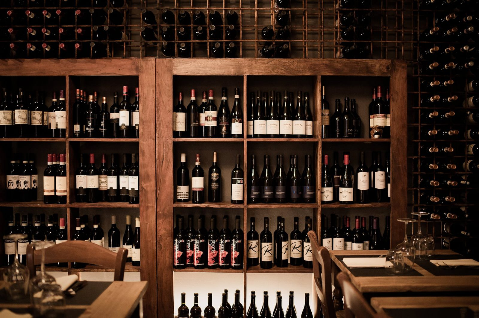 Wine List  Lista di Vini